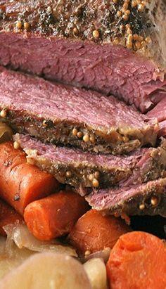 Crock Pot Guinness Corned Beef Recipe Corned Beef