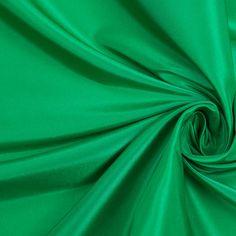 Kelly Green Silk Taffeta