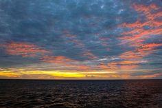 Sunrise at Sea  ... near Bermuda.