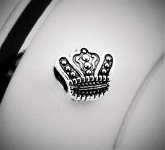 Crown Charm Bead Charm Bead, Simple Pleasures, Class Ring, Crown, Beads, Collection, Beading, Corona, Bead