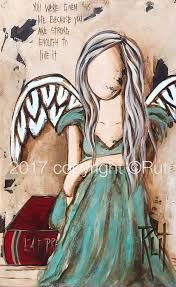 Image result for rut art Illustrations, Illustration Art, Angel Artwork, Creation Art, Angel Pictures, Angels Among Us, Rock Art, Painted Rocks, Painting & Drawing