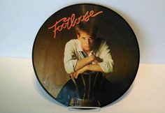 Footloose - Soundtrack  Picture disc. Kevin bacon LP album record 80's retro rad