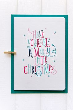 Christmas Card and Gift Tags designs by Love Carli