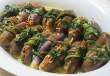Συνταγή : Τουρσί μελιτζανάκι !!! Greek Recipes, Desert Recipes, Cooking Tips, Cooking Recipes, Food Hacks, Food Tips, Pickles, Tapas, Food To Make