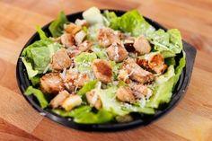 Salata Cesar cu Pui (350g) Pizza Burgers, Potato Salad, Potatoes, Menu, Ethnic Recipes, Food, Menu Board Design, Potato, Essen