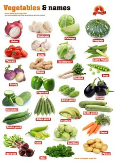 Three Healthy Soup Recipes For Weight Loss Green Vegetables Name, List Of Vegetables, Asian Vegetables, Fruits And Veggies, Vegetables Names With Pictures, Vegetable Pictures, Vegetable Chart, Vegetable Dishes, Vegetable Salad