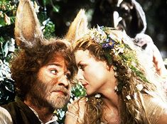 """The queen of fairies, Titania, played by Michelle Pfeiffer in """"A Midsummer Night's Dream"""""""