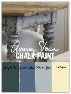 Colorways: Primitive FarmHouse Table