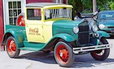 Early Coke truck