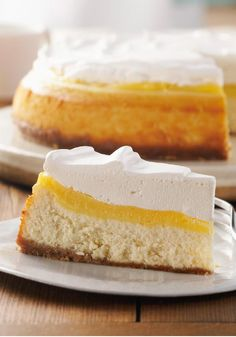 Very Vanilla Custard-Topped Cheesecake – Vanilla is in all the layers…the vanilla wafer crust, the cheesecake, custard topping and the vanilla-infused COOL WHIP.