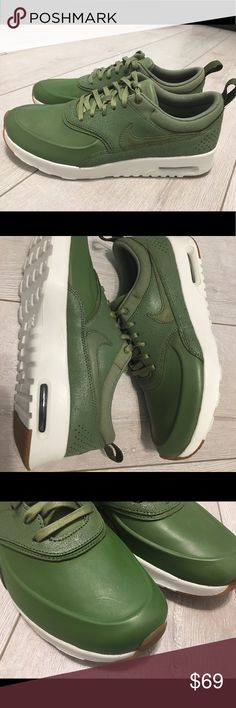 NIKE Air Max Thea Palm Green Running Shoes Nike Air Max Thea  Color: Palm Green Nike ID: 616723-305 Nike Shoes Sneakers