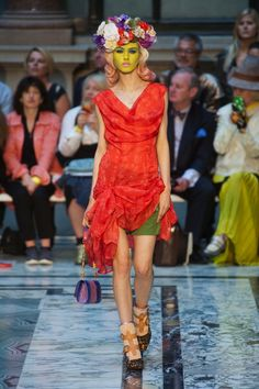 Vivienne Westwood Takes Her Pants Off To Start a Climate Revolution for Spring 2013