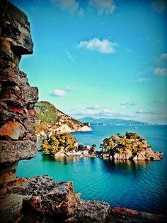 Beautiful sea at Parga Mykonos, Santorini, Beautiful Scenery, Beautiful Places, Greece Holiday, Parthenon, Greece Travel, Greek Islands, Athens