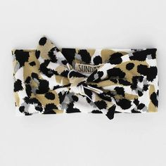 Leopard Headband by Sunday the Label available now at www.blakeandleo.co.nz