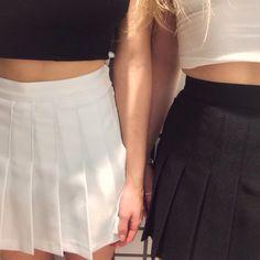 american apparel // tennis skirt