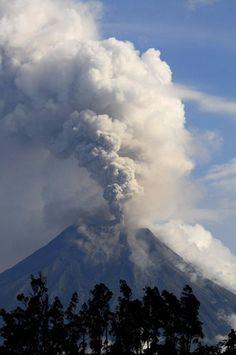 Erupción Tungurahua