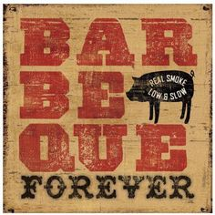 Barbeque Forever by Eazl Outdoor Canvas, Size: 36 x 36, Multicolor