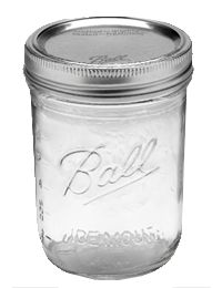 Ball® 16oz Wide Mouth Pint Jars