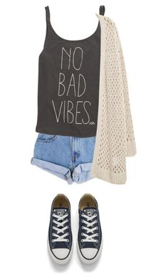 """""""Not allowed?"""" by bri0204 ❤ liked on Polyvore featuring Levi's, Billabong, Converse and Violeta by Mango"""