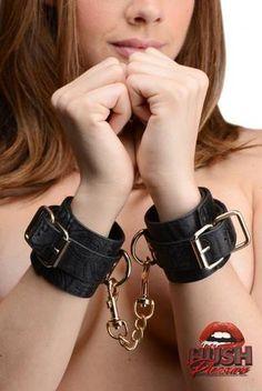 Captured Embroidered Wrist Cuffs