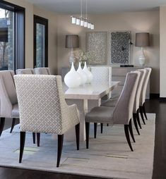 Contemporary Classic Dining Sets: Updated Antiques For A Modern Home