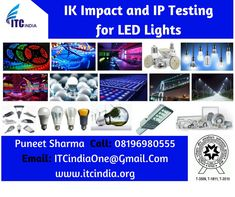 IK Impact and IP Testing