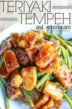 Teriyaki Tempeh and Green Beans — The Local Vegan™ | Official Website