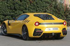 Ferrari F12tdf rear three quarter