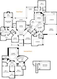 Palazzo Floor Plans by Epcon Communities | Floor Plans & Details ...