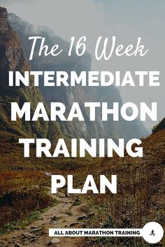 This is a great #marathon training plan for a runner who already has at least one marathon under their belt. #allaboutmarathontraining #run #marathontrainingplan