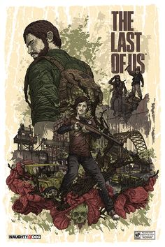 Illustrations for Naughty Dog Studios and Sony Playstation for the upcoming title The Last of US