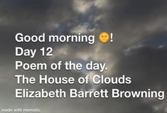 StayAThome With The House of Cards ♥️ Elizabeth Barrett Browning Elizabeth Barrett Browning, Poem A Day, Next Video, House Of Cards, Good Morning, Poems, Youtube, Good Day, Bonjour