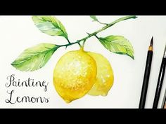 Painting Lemons - Real Time - YouTube