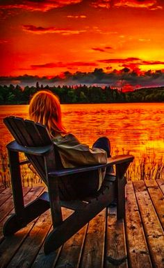"""a-garota-de-capa-vermelha: """" The end of a perfect day at Algonquin Provincial Park in central Ontario, Canada  """" Indian Summer, Canadian Wildlife, Algonquin Park, Perfect Day, Relax, Wildlife Safari, Summer Sunset, Imagines, Kayaking"""