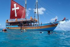 Party on a pirate ship in Barbados!