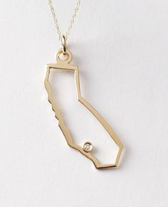California by Maya Brenner I want this!! They even place the diamond in your city area! <3