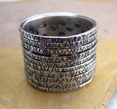Sterling Silver Spinner  Ring  Handmade Ring  by TevalouJewelry, $75.00