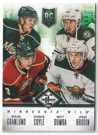 mikael granlund rookie card | 2012-13 Limited Rookie Redemption #14 Mikael Granlund/Charlie Coyle ...