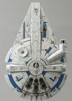 Lando's Millennium Falcon.