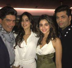 Has Jhanvi Kapoor joined Alia Bhatt's friend circle? View pic #FansnStars