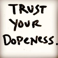 Be aware but never listen to the haters. Always trust your DOPENESS and continue to live at your own pace! www.layop.com
