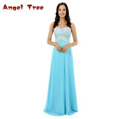 >> Click to Buy << Angel Tree 2017 Fairy Contrast Color Long Evening Dress Crystal Beads Zipper Chiffon Customized Porm Celebrity Dresses #Affiliate
