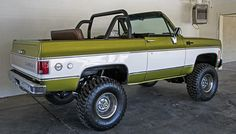 I like the roll cage. Rc Cars And Trucks, Gm Trucks, Cool Trucks, Pickup Trucks, 72 Chevy Truck, Chevy 4x4, Chevrolet Trucks, Chevy Blazer K5, K5 Blazer