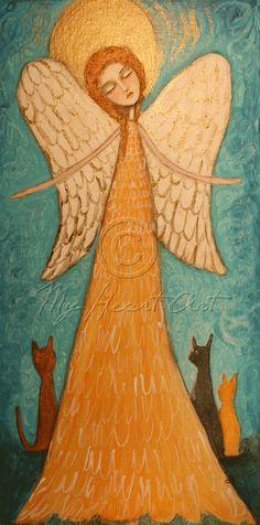 Angel Guardian of Cats - Geri Centonze