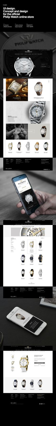Philip Watch official online store on Behance