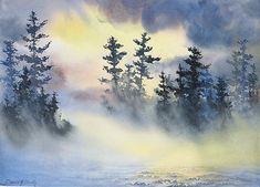 Misty Lake Giclée