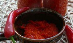 Domácí chilli omáčka sambal