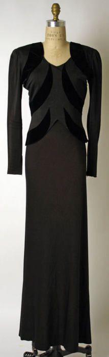 Elsa Schiaparelli suit ca. 1939 via The Costume Institute of the Metropolitan Museum of Art