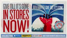 Ben Harper's vocal styling reminds me a lot of Lenny Kravitz.