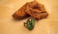Lenore Gothic Steampunk Dolly Kei Lolita Ring by DecadentCandy, £5.00